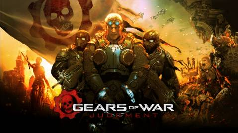 2013 Gears of War Judgment Game