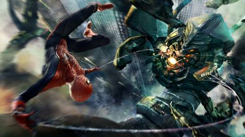 Amazing Spider Man Boss Fight
