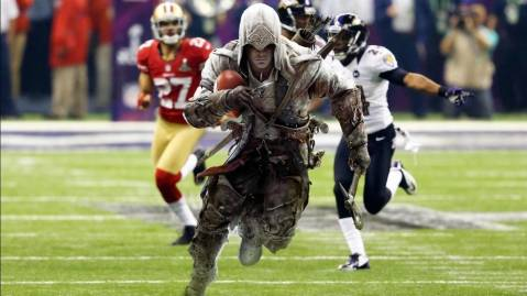 Assassins Creed 4 Super Bowl