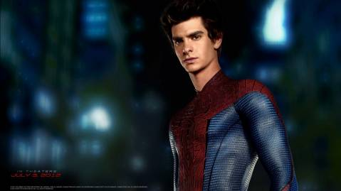 Andrew Garfield in Amazing Spider Man