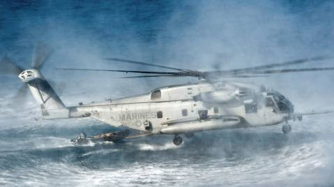 ch 53e super stallion helicopter