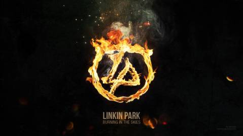 linkin park burning in the skies