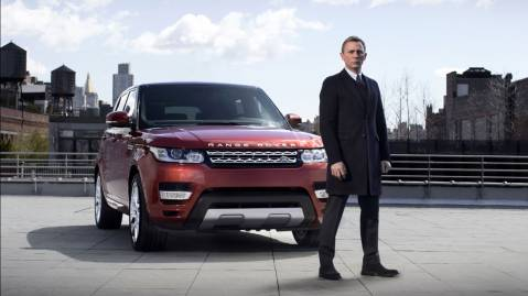 james bond range rover sport 2014